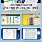 Montessori-Inspired Little Passports Activities – Israel