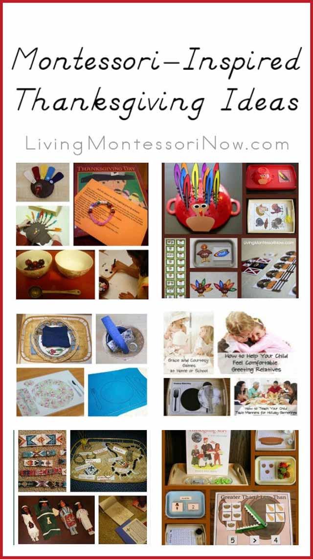 Montessori-Inspired Thanksgiving Ideas