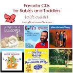 Favorite CDs for Babies and Toddlers {Gift Guide}