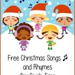 Free Christmas Songs and Rhymes for Circle Time