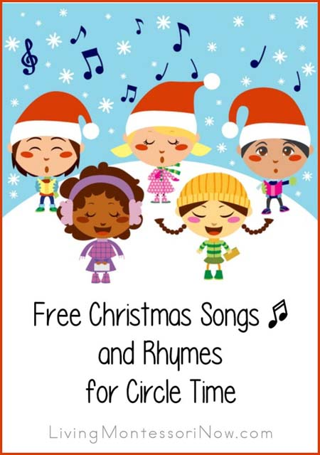free christmas songs and rhymes for circle timejpg