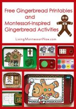 Free Gingerbread Printables and Montessori-Inspired Gingerbread Activities