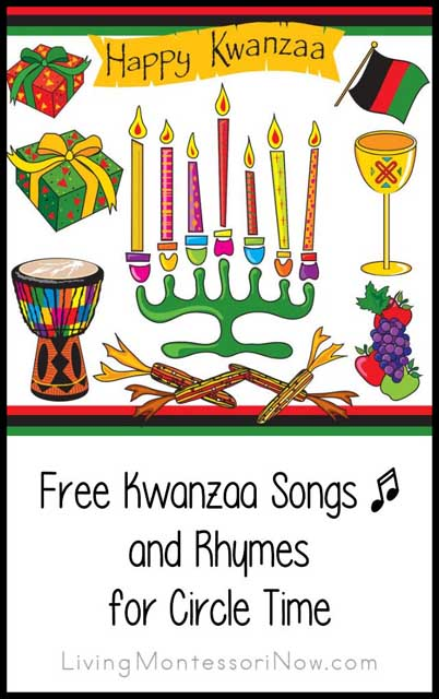 Free Kwanzaa Songs and Rhymes for Circle Time