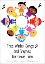 Free Winter Songs and Rhymes for Circle Time