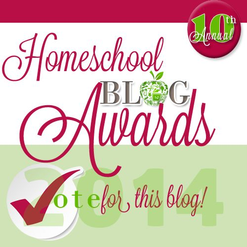 Homeschool Blog Awards
