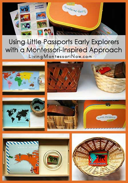Using Little Passports Early Explorers with a Montessori-Inspired Approach
