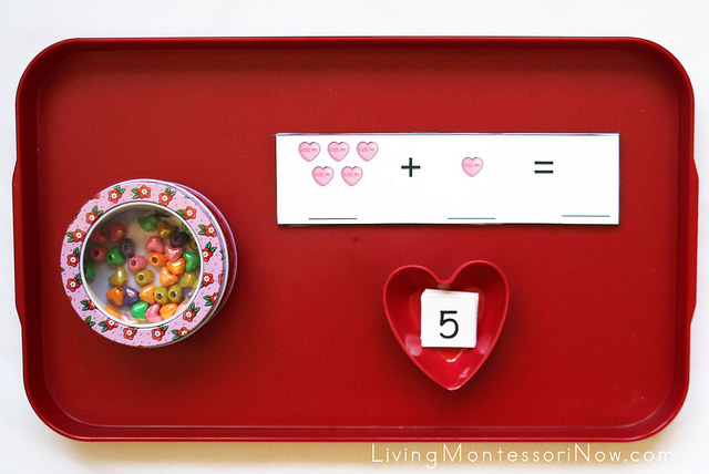 Heart Addition Activity