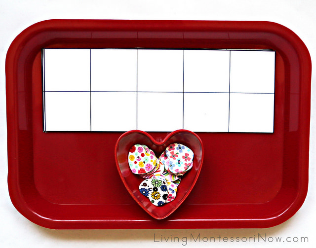 Heart Button Sorting and Counting