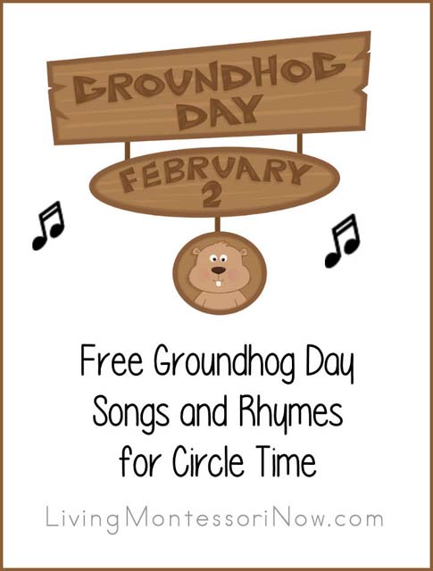 Free Groundhog Day Songs and Rhymes for Circle Time