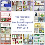 Montessori Monday – Free Printables and Montessori-Inspired Activities from 2014