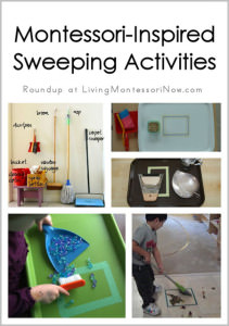 Montessori-Inspired Sweeping Activities