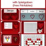 Montessori-Inspired Valentine Activities with Spielgaben