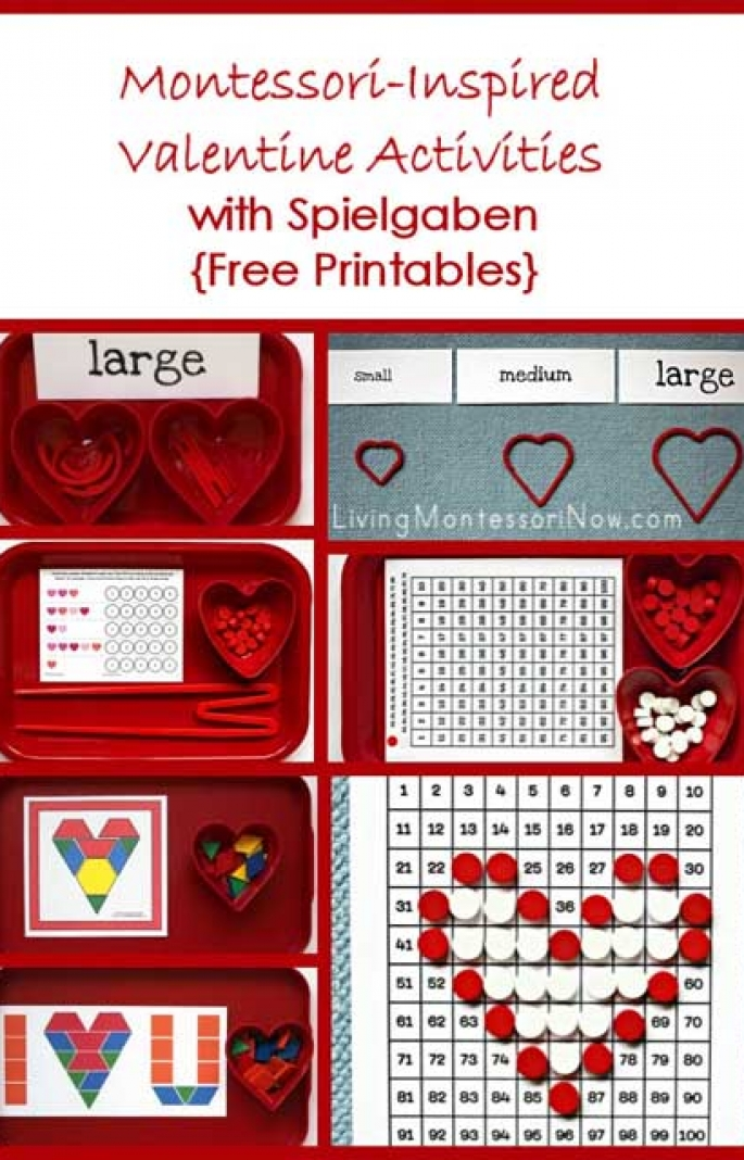 Montessori-Inspired Valentine Activities with Spielgaben