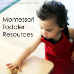 Montessori Monday – Montessori Toddler Resources