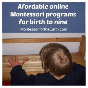 Montessori for the Earth Programs for Infants, Toddlers, Preschool & Elementary