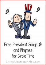 Free President Songs and Rhymes for Circle Time
