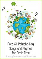 Free St Patrick's Day Songs and Rhymes for Circle Time