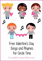 Free Valentine's Day Songs and Rhymes for Circle Time