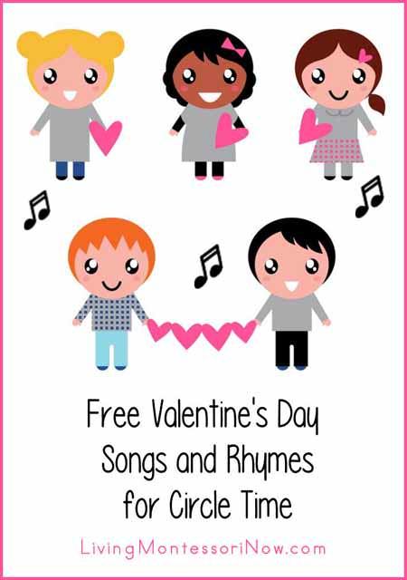 free valentine's day songs and rhymes for circle time - living, Ideas