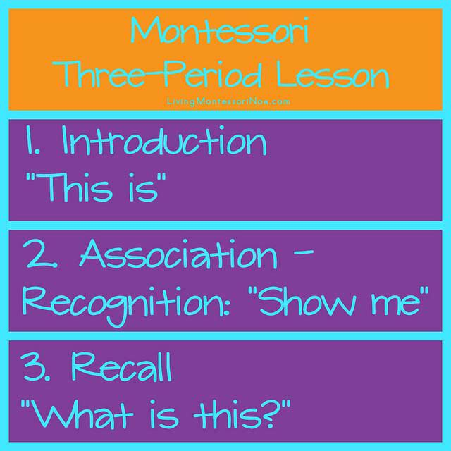 How to Use the Three-Period Lesson to Teach Concepts and Vocabulary to Your Preschooler