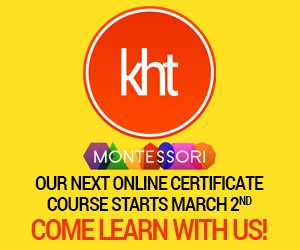 KHT Montessori December 1 Course