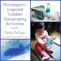 Montessori-Inspired Toddler Geography with Baby Beluga