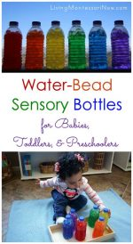 Water-Bead Sensory Bottles for Babies, Toddlers, and Preschoolers