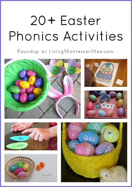 20+ Easter Phonics Activities