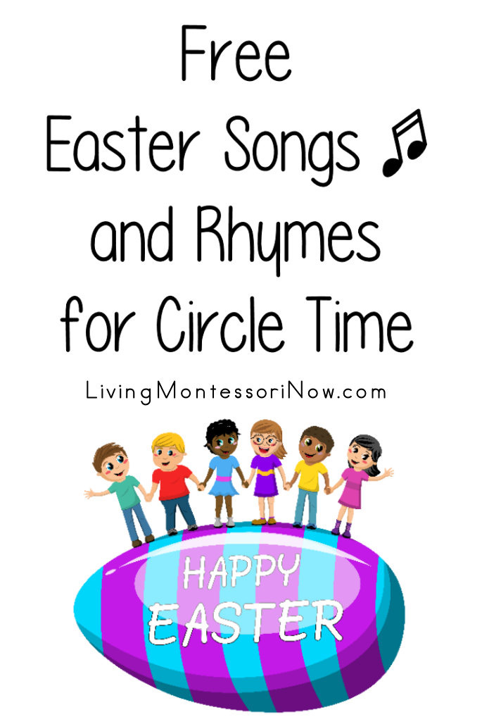 Free Easter Songs and Rhymes for Circle Time