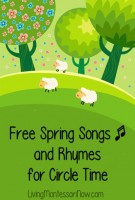 Free Spring Songs and Rhymes for Circle Time_Facebook