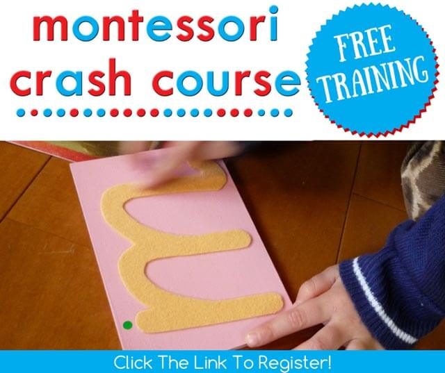 Montessori Crash Course Registration