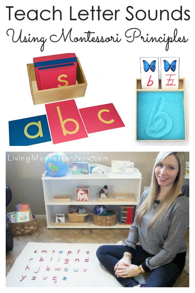 Teach Letter Sounds Using Montessori Principles