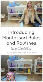Introducing Montessori Rules and Routines to a Toddler