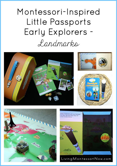 Montessori-Inspired Little Passports Early Explorers Activities – Landmarks