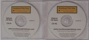 Montessori Print Shop Deluxe CD Rom