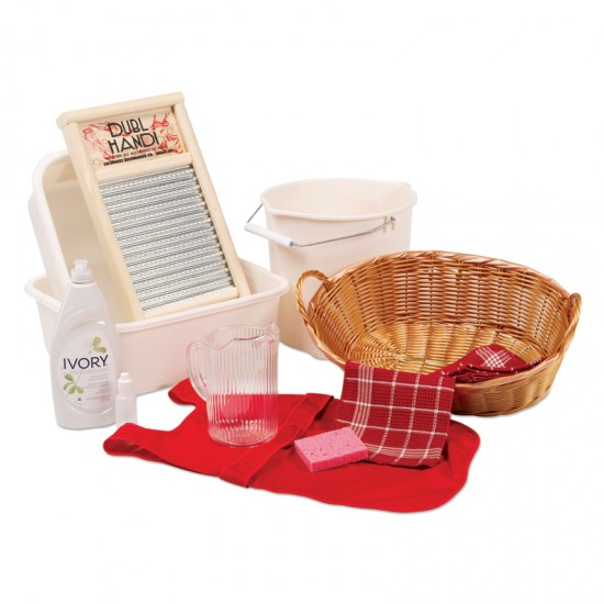 Montessori Services Cloth Washing Activity