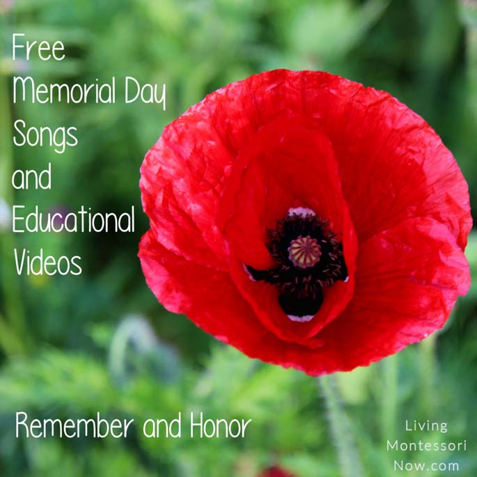 Free Memorial Day Songs and Educational Videos