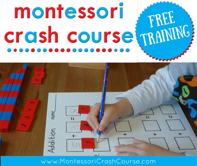 Montessori Crash Course Free Workshop and Course Introduction