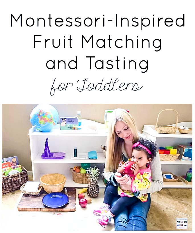 Montessori-Inspired Fruit Matching and Tasting for Toddlers