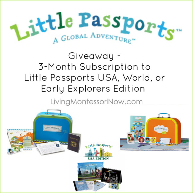 Little Passports Subscription 3-Month Giveaway