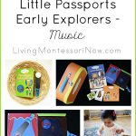 Montessori-Inspired Little Passports Early Explorers Activities – Music
