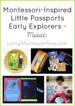 Montessori-Inspired Little Passports Early Explorers Activities – Music