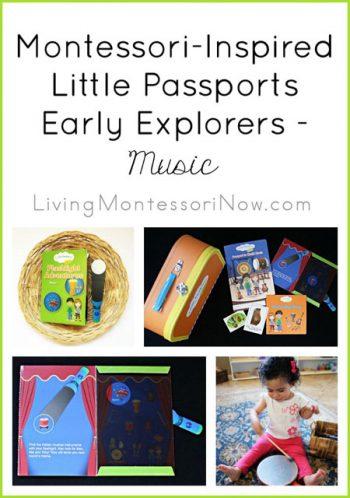 Montessori-Inspired Little Passports Early Explorers Activities - Music