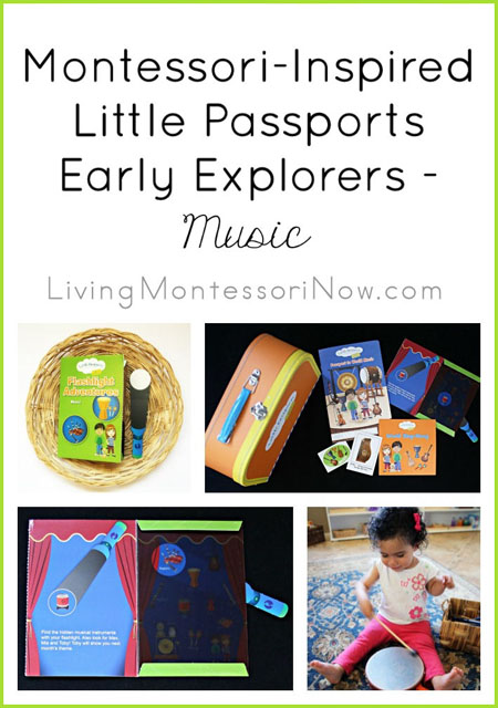 Montessori-Inspired Little Passports Early Explorers Activities - Music