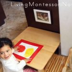Montessori Monday – Montessori-Inspired Mess-Free Finger Painting and Color Mixing