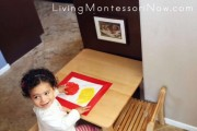Montessori-Inspired Mess-Free Finger Painting and Color Mixing_4x6