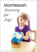 Montessori Monday – Montessori: Learning for Life