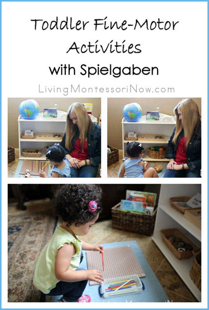 Toddler Fine-Motor Activities with Spielgaben