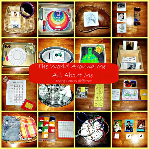 All About Me Free Printables and Activities (Photo from Every Star Is Different)