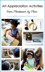 Art Appreciation Activities from Montessori By Mom